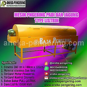 Rotary, rotary dryer, pengering pertanian, pengering padi, pengering jagung, pengering gabah
